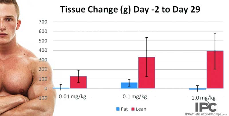 testolone (RAD140) results before and after